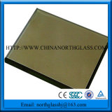 4mm Bronze Reflective Glass Brown Mirror Coating Glass