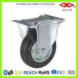 75mm Industrial Black Rubber Caster Wheel (P101-11D075X25S)