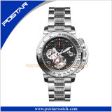 Traditional Sport Watch with Carbon Fiber Dial Promotional Watch