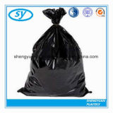Plastic Disposable Garbage Trash Bag with Tie Handle