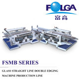 Glass Straight Line Double Edging Machine Production Line