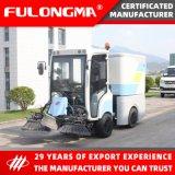 Fulongma Electric Fast Charging 1.8m Cleaning Path Mini Road Sweeper