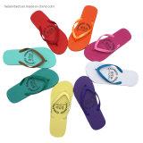 Wholesale Promotional Flipflop Cheap Price EVA Rubber Slippers, Colorful Printed Women Slippers Flip Flop Logo, Custom Flip Flop 2 Buyers