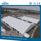 20 X 30 Frame Tents 300-500 People Capacity White Roof Church Marquee Tents for Event/Reception Shelter