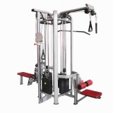Commercial Multi Station Gym, 4 Multi Function Gym Sports Equipment Multi Functional Fitness