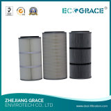 Tobacco Plant Gas Filtration Dust Collector Cartridge Filter PE Material