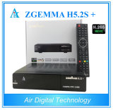2017 Hot New Products DVB-S2X Zgemma H5.2s+ DVB-S2+ DVB-S2X/T2/C Hevc H. 265 Satellite Receiver Zgemma H5.2s Plus