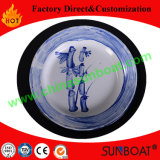 14/16/18cm Customized Cast Iron Round Enamel Vegetable Dish