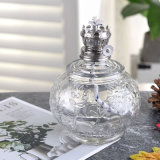 Glass Oil Lamp Tank with Decoration