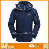 Men′s 3 in 1 Sport Waterproof Warm Jacket