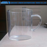 Clear Glass Water/Tea Cup with Handle Factory Price