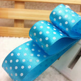 Custom Printed Ribbon with DOT Print for Gift Wrapping