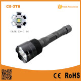 C8-3t6 3t6 3xxm-L T6 Super Bright 5mode LED Waterproof Torch 30W Long Distance Flashlight