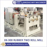 Xk-300 12inch Two Roll Open Mixing Mill for Rubber Plastic Silicone