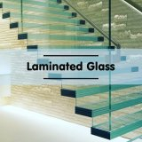 Safety Building Glass /Laminated Glass/Tempered-Laminated/Float Glass for Construction with Ce/ISO/SGS