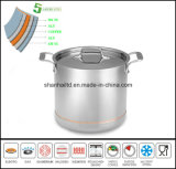 5 Ply Body Copper Core Soup Pot