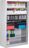 2 Rolling Shutter Door Metal File Storage Cabinet