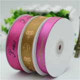 100% Polyester Satin Label Ribbon for Thermal Transfer Printing