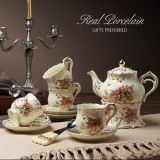 Dinner Set Promotional Gift Ceramic Tea Set Ceramic Dinnerware