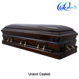 Special Quilt High Gloss Velvet Coffin and Casket