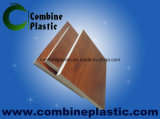Wood Grain PVC Film Laminated Onto PVC Foam Board for Furniture
