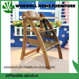 Pine Wood Foding Baby High Eating Chair