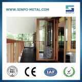 Aluminum Window Frames Wind Proof Sound Proof Casement Window Cheap Price