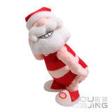 Electrical Toy Santa Claus Plush Stuffed Soft Toy