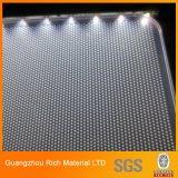 Laser Engraved Dots Acrylic Sheet Light Guide Panel for LED Lighting