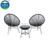 3PCS Rattan/Wicker Acapulco Chair Set Garden Furniture Cheap