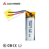 Best Price 501235 3.7V 160mAh Rechargeable Lithium Li-Po Battery with Kc