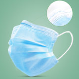 Factory Wholesale Cheap Sale Blue 3 Ply Layers Earloop Disposable Medical Supplies Dust Protective Civil Mask