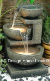 Classical Polyresin Outdoor Garden Water Fountain W/LED Light