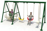 Outdoor Playground Kids Metal Swing Sets