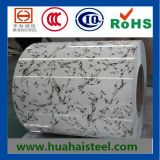 Color Coated Galvanized Steel Coil (Marble pattern) with Compertitive Price