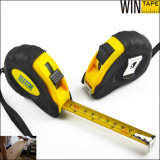 5m/16feet Flexible Steel Auto-Stop Measuring Tape Metal Measurement Tools Less Than 1 Dollar with Label and Sticker