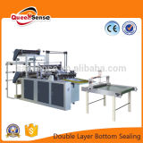 Four Line Double Layer Flat Bag Making Machine