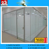 12mm Thick Toughened Glass for Door with AS/NZS2208: 1996