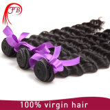 100% Real Human Hair Deep Wave Hair Weaving