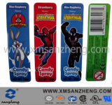 Custom Cartoon Clear Semi Glossy Sticky Weather Resistant Colorful Barcodes Labels