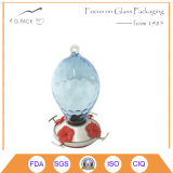 Solid Color Glass Hummingbird Water Feeder