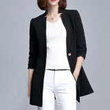 Lady Wear Factory Professional OEM New Design Ladies Black Suit