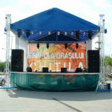 Outdoor Aluminum Equipment DJ Podium Exhibition Trade Show Truss