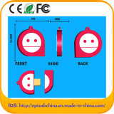 Smile Face Self-Mould Design Soft PVC USB Disk (EG565)