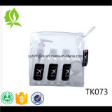 Cosmetic Packing Empty Clear Pet Bottle Plastic Travel Bottle Set