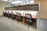 Open Space Desking System Office Stright Call Center Workstation