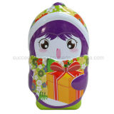 Cute Penguin Shaped Chirstmas Gift Packing Metal Tin Box