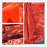 Double Orange China PE Tarpaulin Sheet/PE Tarps/Poly Tarps