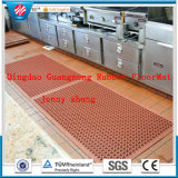 Shock Absorbing Anti-Fatigue Porous Rubber Mat, Workshop Floor Protector Mats