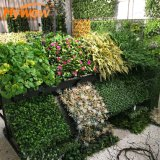 Vertical Green Wall Synthetic Flower Wall for Garden Decoration